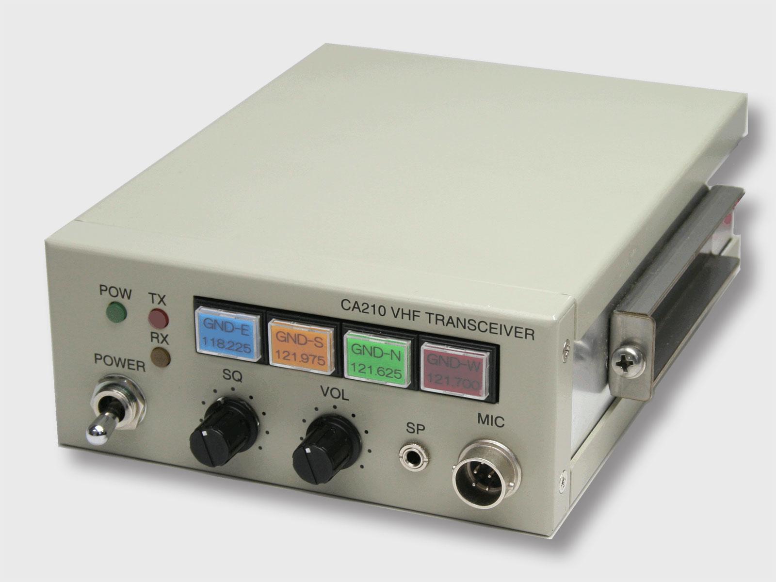 車載用VHF無線送受信装置 CA210