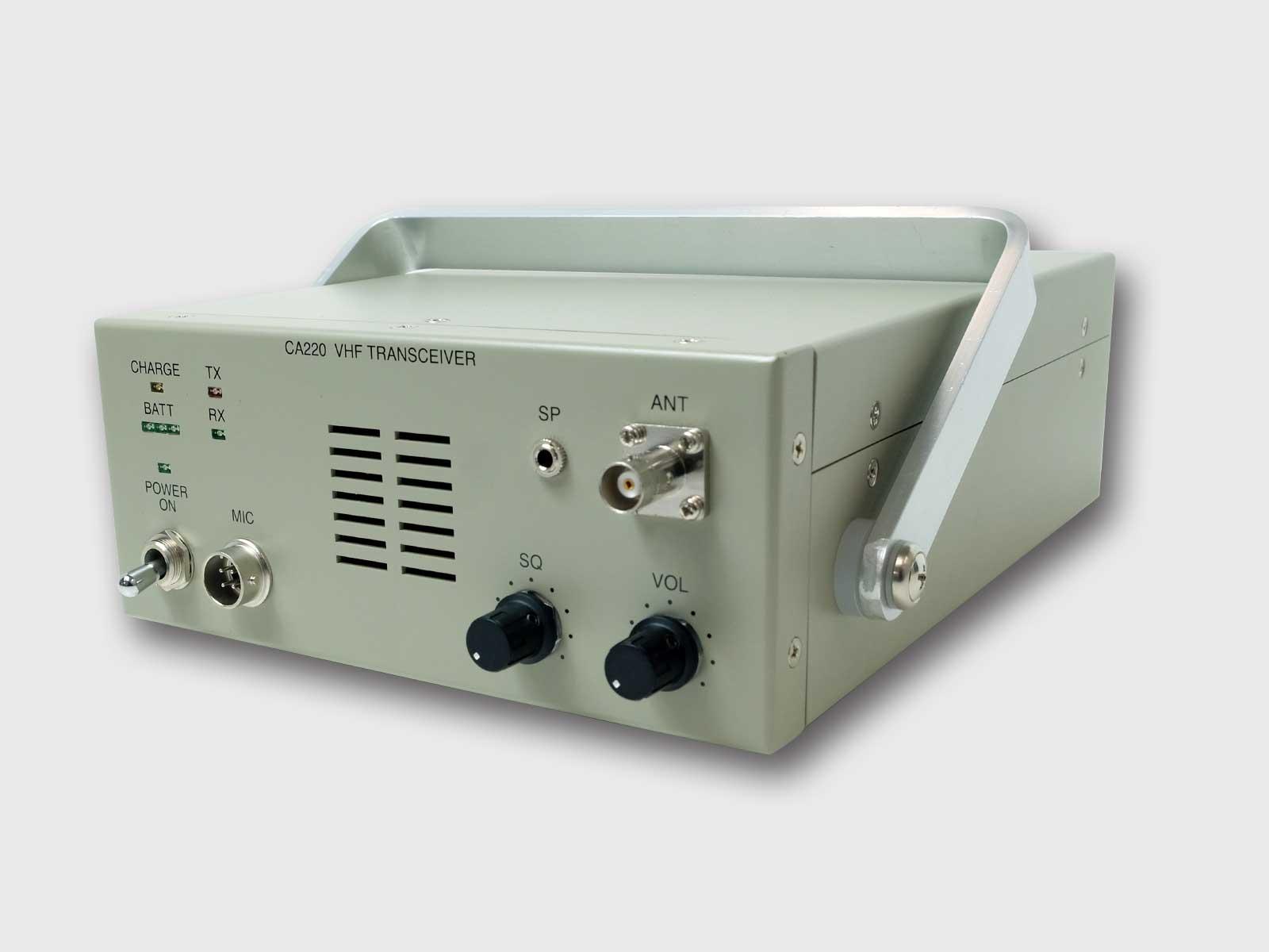 可搬型VHF無線送受信装置 CA220